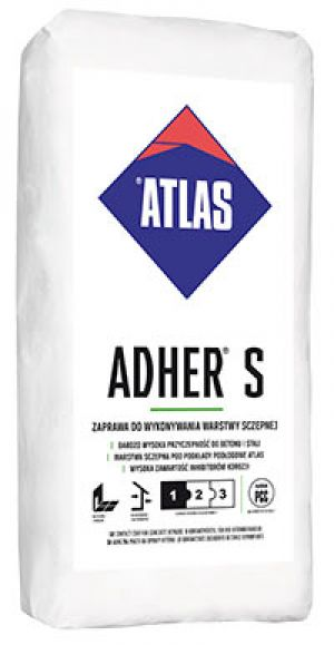 ATLAS ADHER S - contact coat for concrete repairs