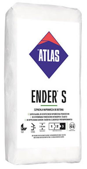 ATLAS ENDER S - finishing coat for concrete repairs, thickness 3-10 mm