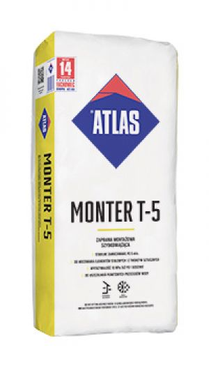 ATLAS MONTER T-5 - fast-setting assembly mortar