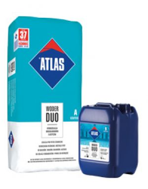 ATLAS WODER DUO - two-component waterproofing